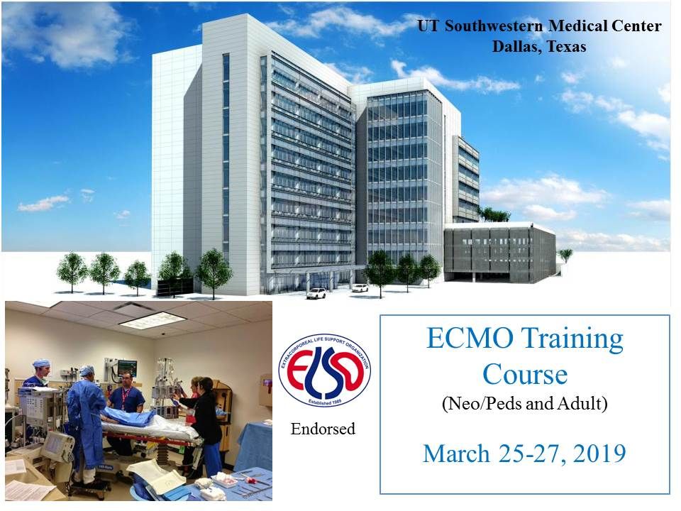 ECMO training course banner
