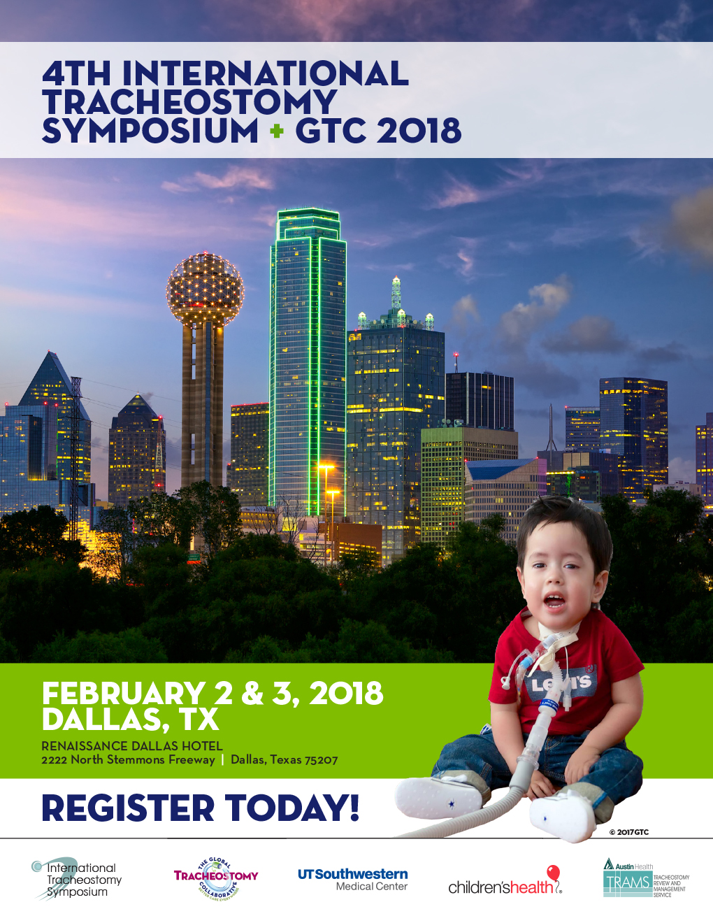 4th International Tracheostomy Symposium - GTC 2018 (RP1802A
